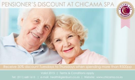 Pensioner's Spa  Discount