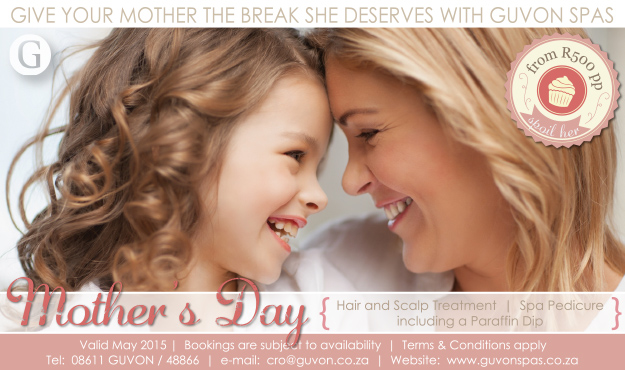 Guvon Spas Mother's Day special