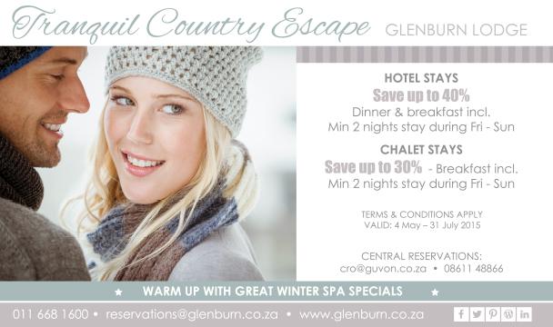 Glenburn Lodge winter special