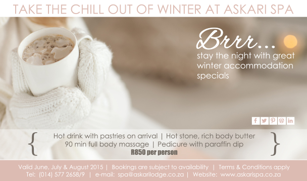Winter Spa packages
