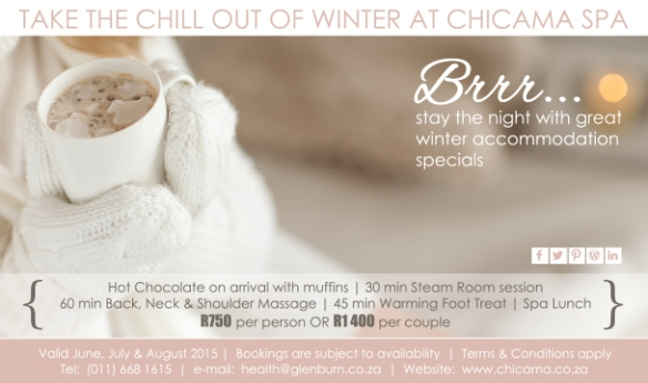 Winter-spa package-Chicama-Spa