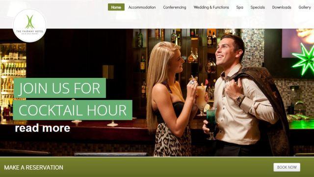 Fairway website booking button