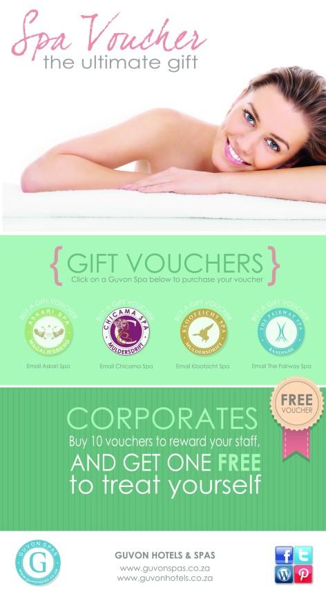 Guvon Spas - Gift Voucher