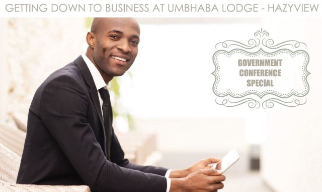 Umbhaba Lodge government conference special