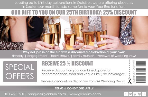 Glenburn Lodge 25% discount in Sept