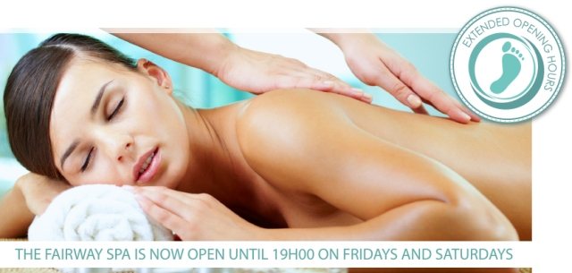 Fairway Spa Extended Opening Hours