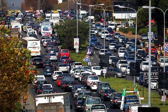Sandton traffic