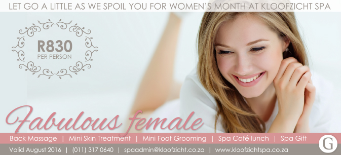 Woman Day Signature 2016 - Kloofzicht Spa